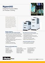 Priemyselné chladiče vody pre presné chladenie – od 28 kW