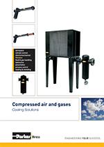 Riešenia pre chladenie stlačeného vzduchu a plynov