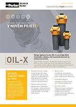 Filtre stlačeného vzduchu OIL-X - nová séria